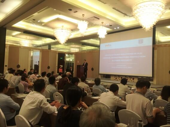 Embassy of Vietnam attended the workshop's first cybersecurity Israel