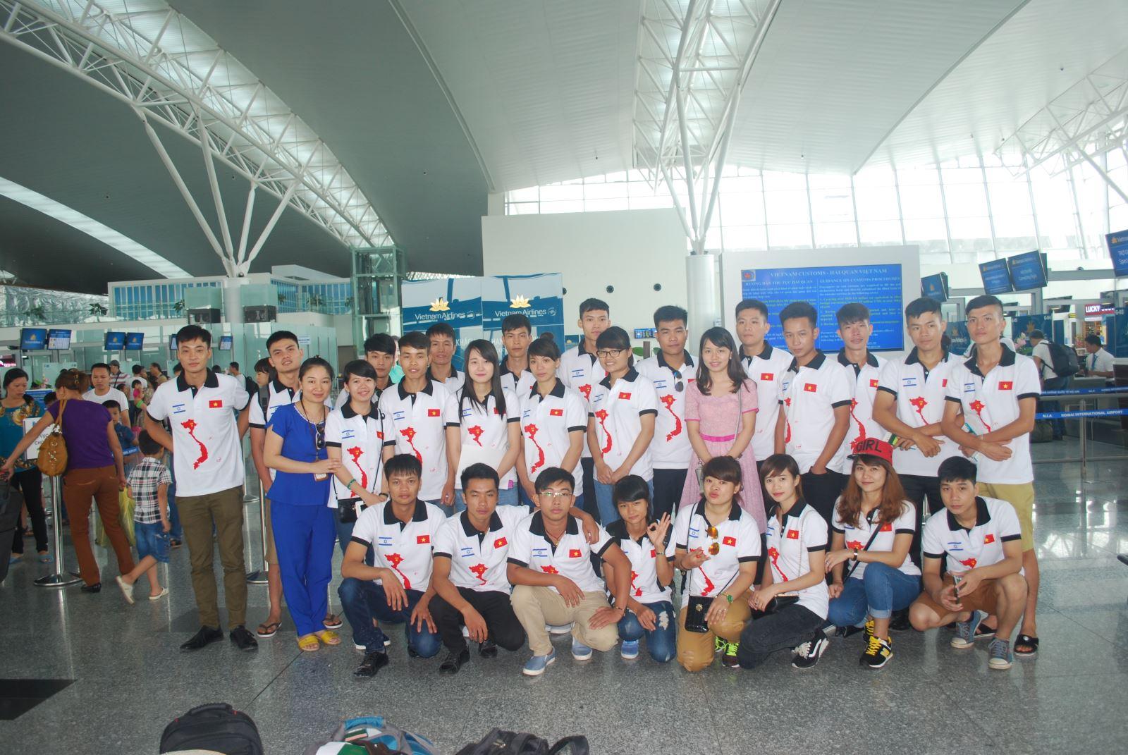 Sinh viên Đại học Nông Lâm TP.HCM chuẩn bị lên đường sang Israel tu nghiệp