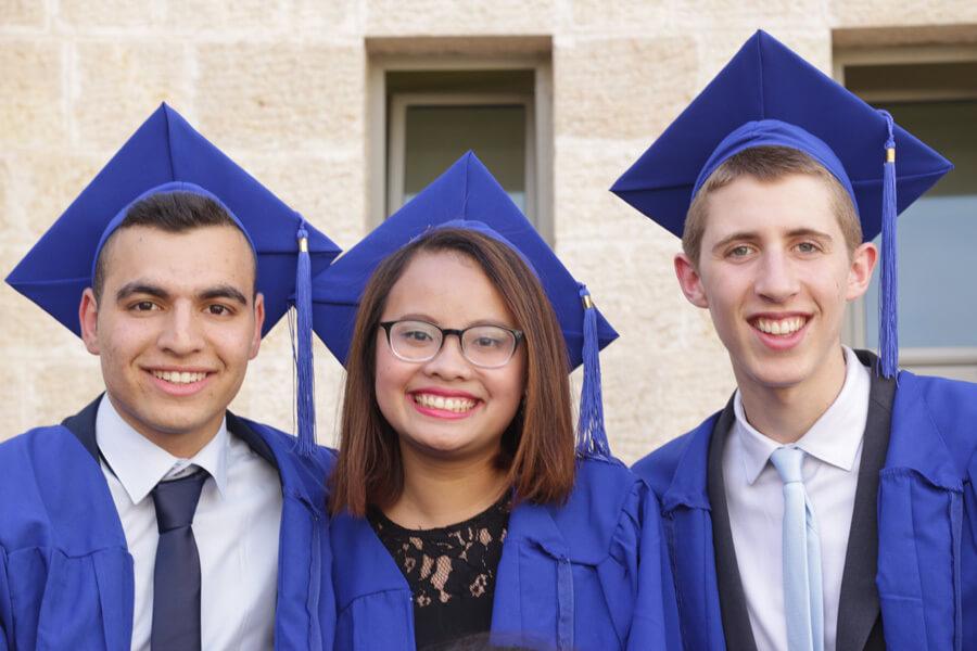 Sinh viên Việt Nam cùng các sinh viên quốc tế tại Israel