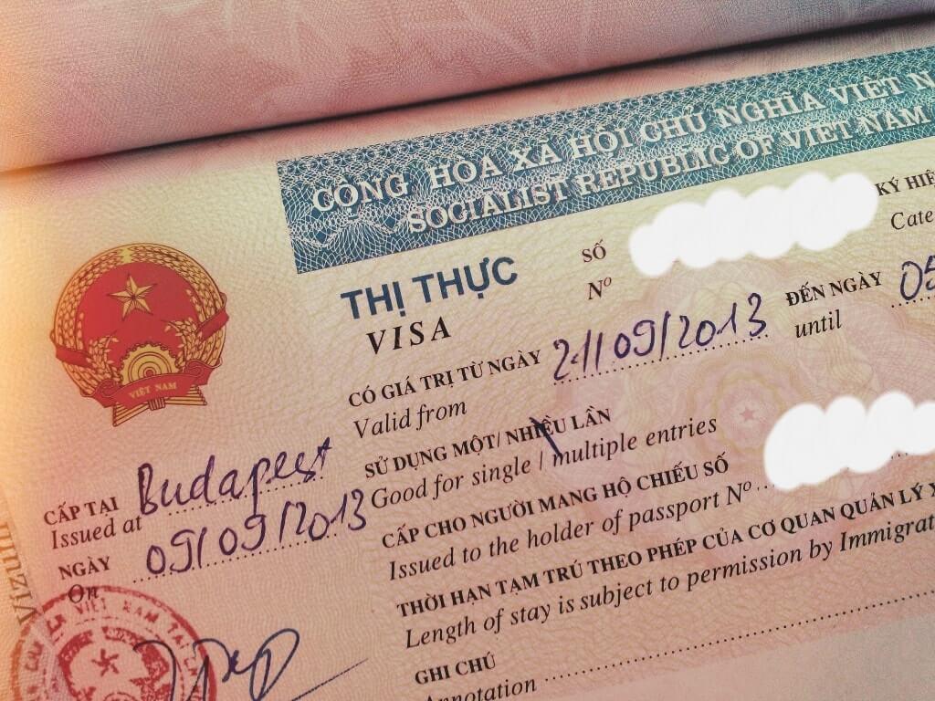 Vietnam visa extension for Israeli