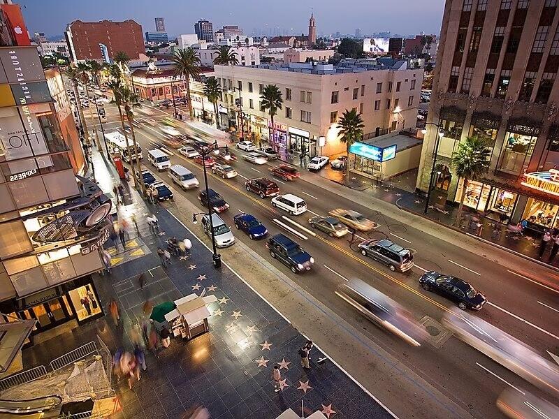 Con đường danh vọng Hollywood - Hollywood Boulevard