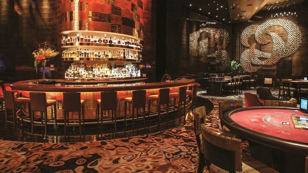 Bên trong một casino ở Las Vegas