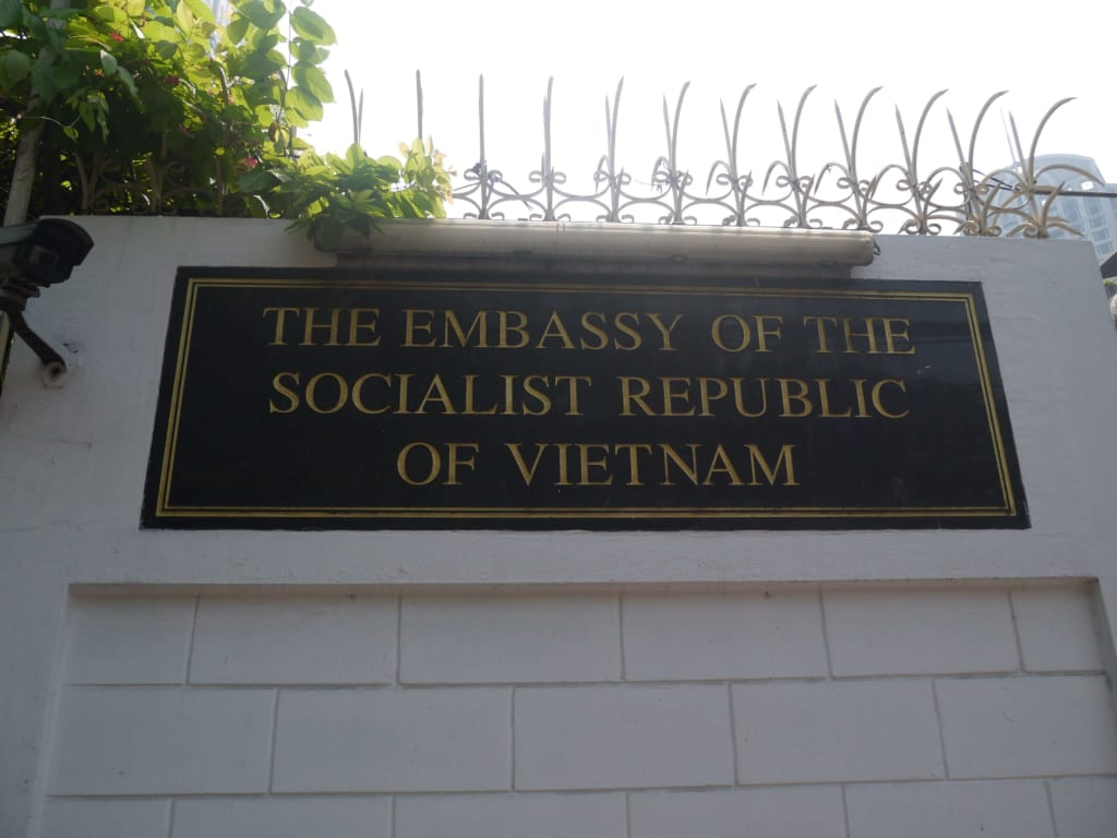 Address of Vietnam Embassy in Palestine - سفارة فيتنام في فلسطين