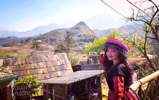 Traveling In Vietnam By Motorcycle On Tet Holiday